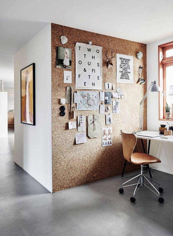 Cork wall design