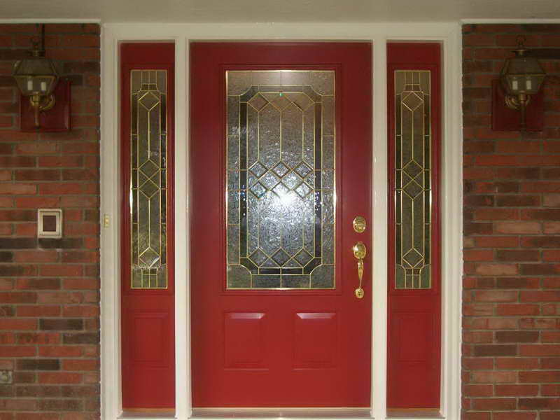awesome-red-front-door-idea