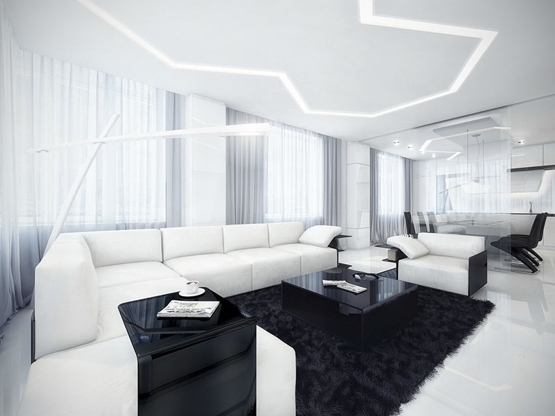black-and-white-minimalist-living-room