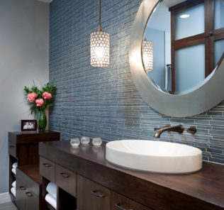 Bold-Frame-Stainless-Steel-Finish-Round-Mirror-For-Bathroom